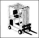 Cuchion Tire Forklift
